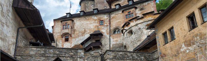 Oravský hrad v celej svojej kráse